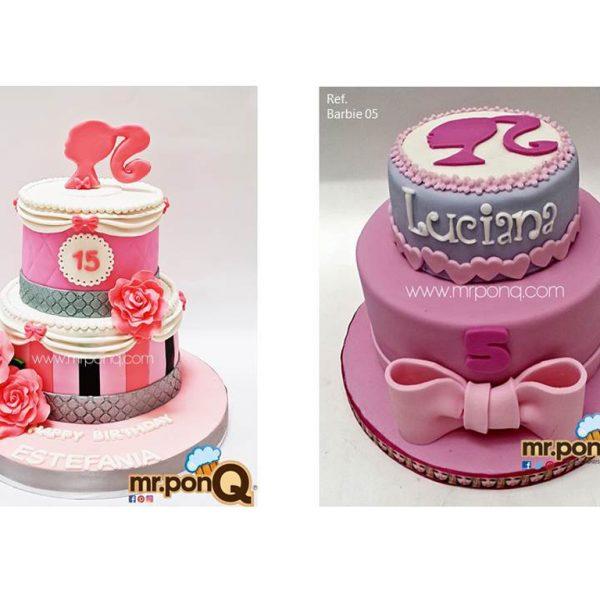 Mrponq Niñas Barbie 02