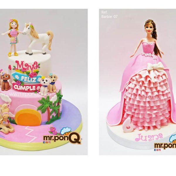 Mrponq Niñas Barbie 03