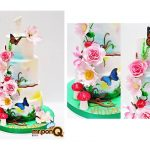 Mrponq Niñas Flores y mariposas