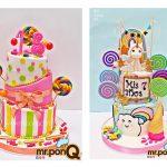 torta candy mrponQ niñas