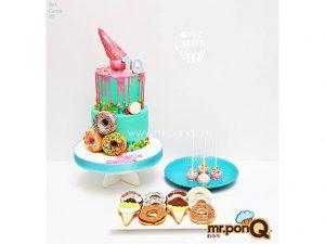 tortas candy niñas mrponq