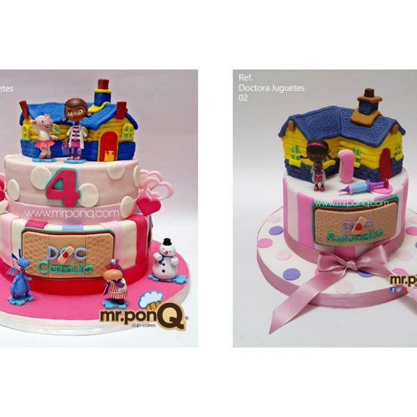 Torta niñas doctora juguetes mrponQ