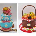 tortas picnic niñas