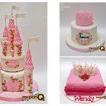 torta princesas niñas mrponq