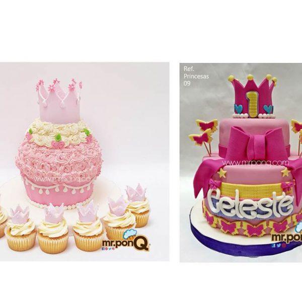 tortas princesas mrponq