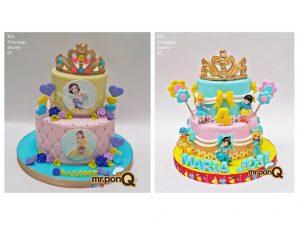 torta princesas disney niña mrponq