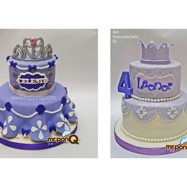 torta princesita sofia niñas mrponQ