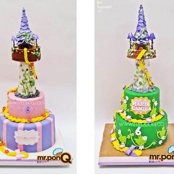 torta rapunzel niñas