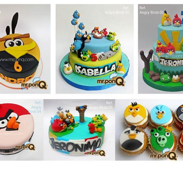 Tortas Angry Birds mrponQ