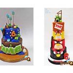 Mrponq torta Angrybirds