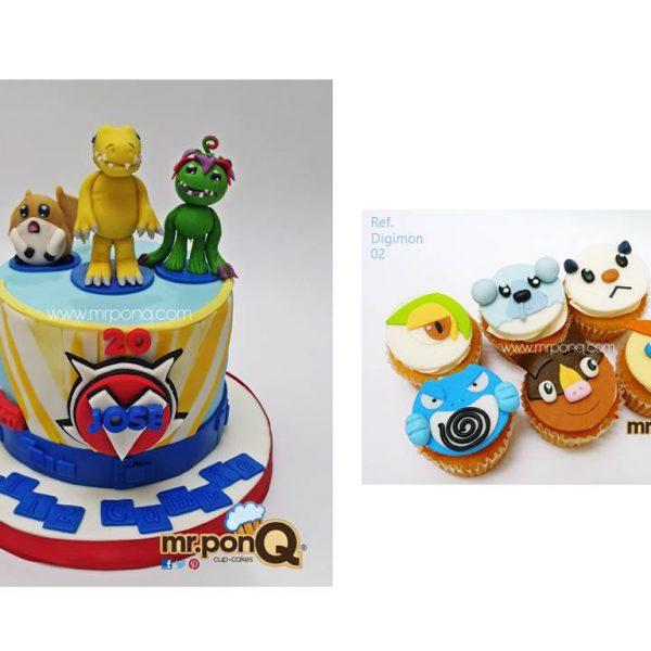 Torta Niños - Digimon