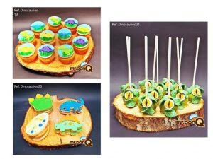 torta dinosaurio niños mrponq