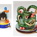 mrponq niños tortas dragon ball z