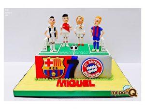 torta fútbol niños mrponQ