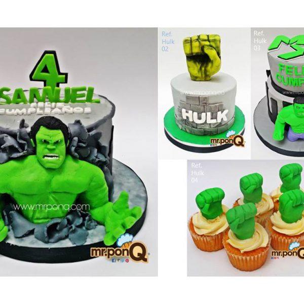Mrponq Niños Hulk