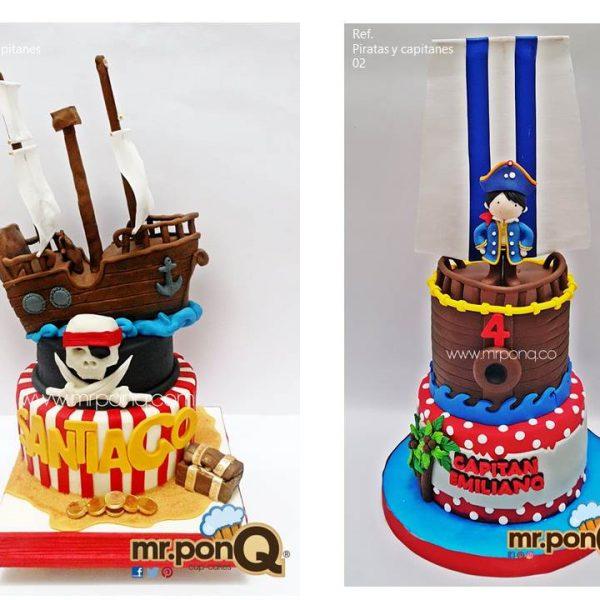 Mrponq Niños - Piratas y Capitanes
