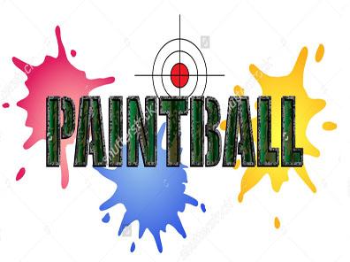 torta niños - Paintball