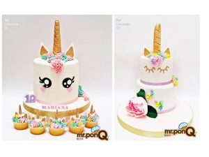 torta niñas unicornio mrponQ
