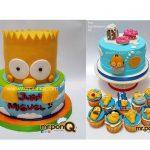 tortas niños - Los Simpson