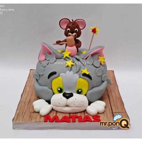 torta niños - Tom Y Jerry