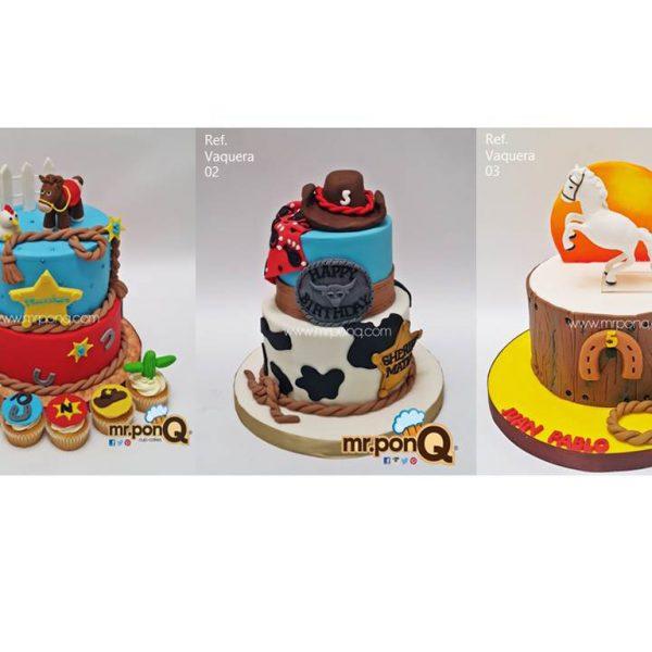 Torta niños vaquero mrponQ