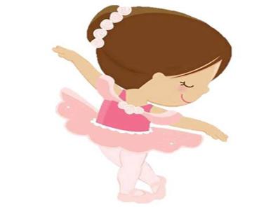 torta niñas bailarina