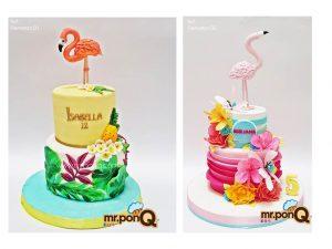torta niñas flamenco mrponq