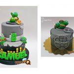 Torta tortugas ninja niños