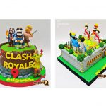 torta niños clash royale