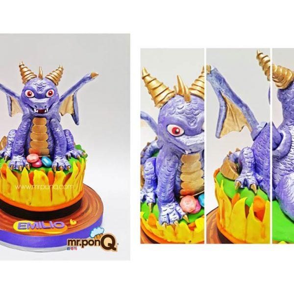 torta niños spyro el dragón