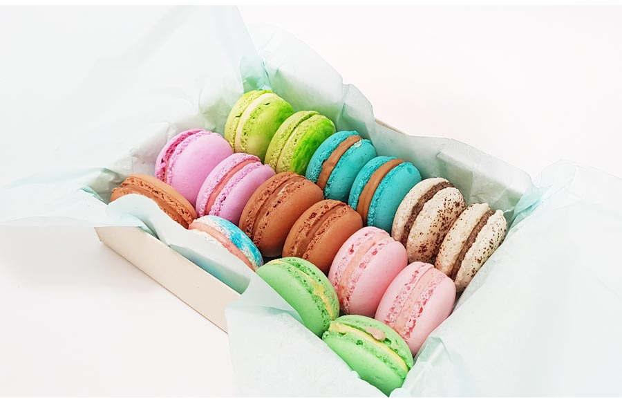 mrponQ | Ofrecemos Macarons Caja / Estuche