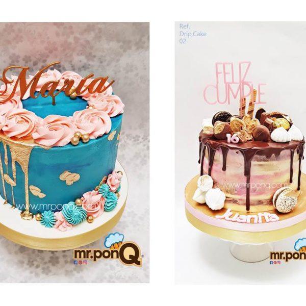 Tortas drip cake mrponQ