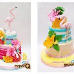 tortas niñas flamingos mrponQ