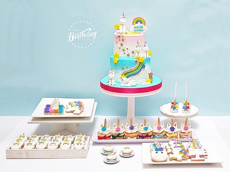 torta unicornio mrponq