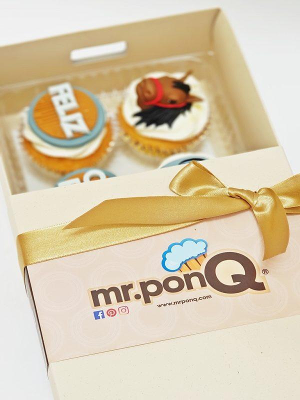 mrponq cupcake caja x 6