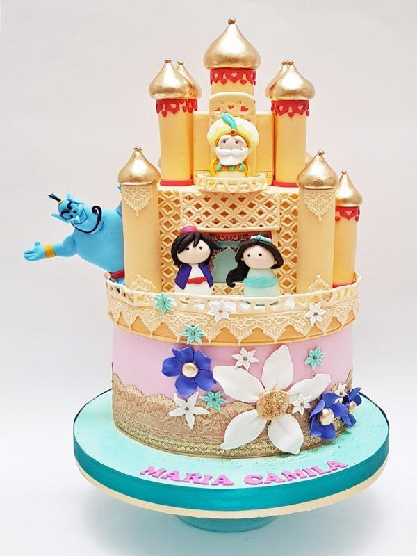torta niñas aladino mrponq
