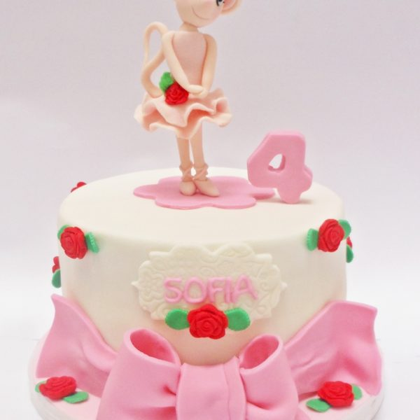 mrponq torta niñas angelillaballerina