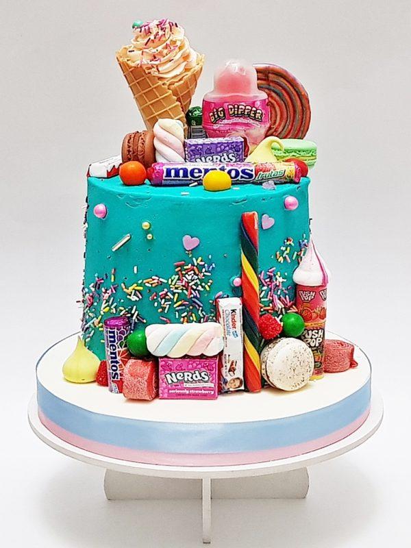 mrponq tortas niñas candy