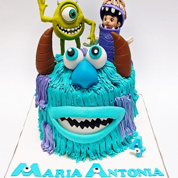 mrponq niñas monster inc