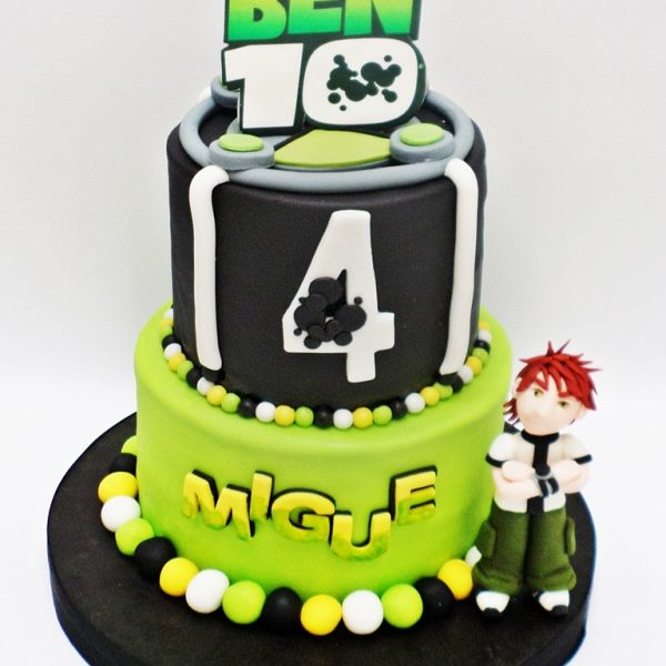 Ben 10 torta niños rmponq