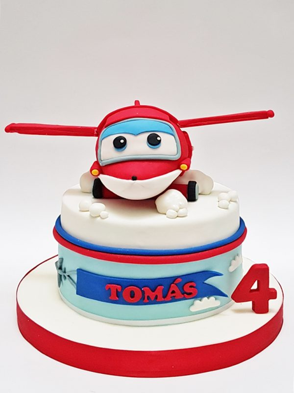 torta niños super wings mrponq