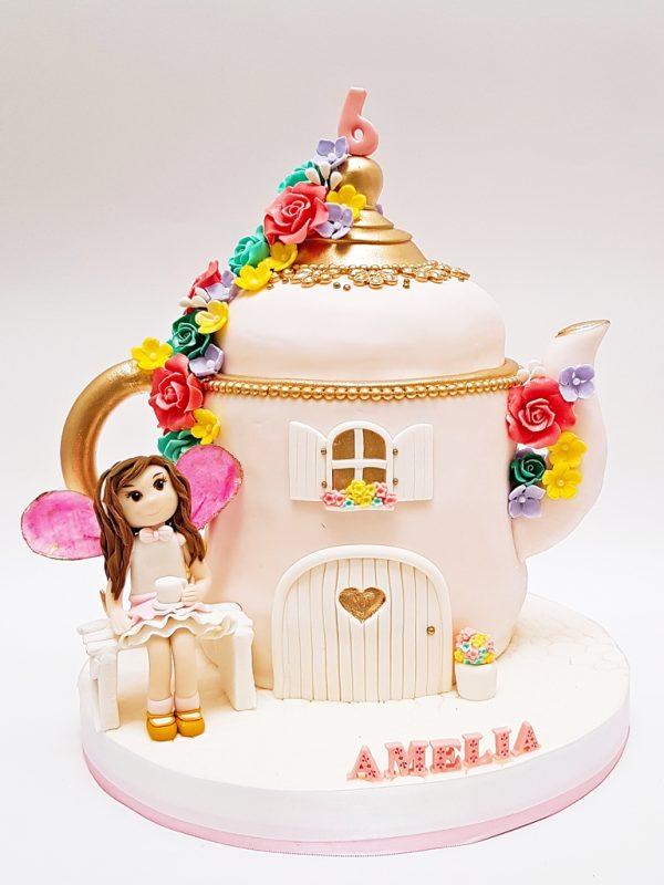 mpronq torta té niñas